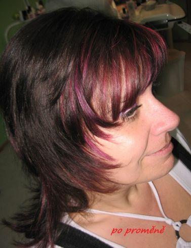 Můj účes pro vaše vlasy: střih pro polodlouhé vlasy, styl denní ...