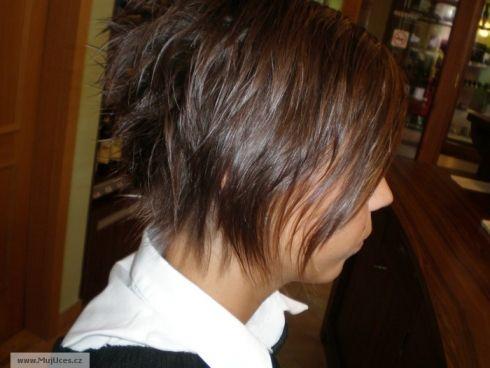 Můj účes pro vaše vlasy: střih pro krátké vlasy, styl denní ...